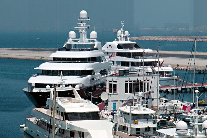 Prestige Marina Berths Limit The Size Of Superyachts Mediterranean