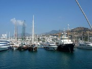 Bodrum Marina in Turkey