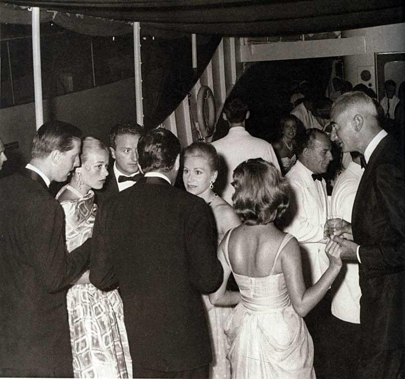 Elizabeth Taylor And Richard Burton Yacht Taylor Richard Burton And