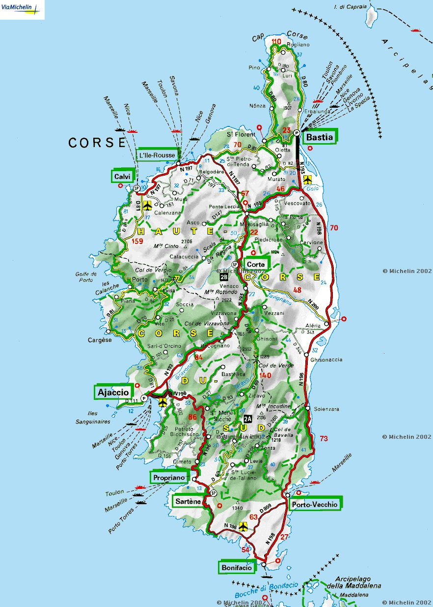 Get Me a Bigger Boat! : The Corsica Plan | Mediterranean Berths ...